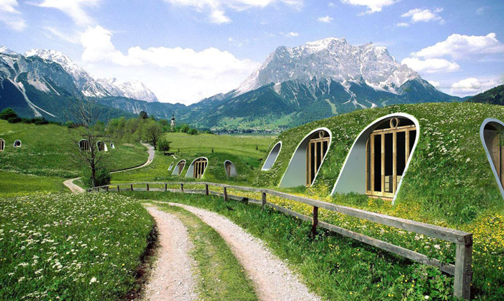 Build Your Own Green Home eco-friendly and energy-efficient hobbit home | coraviral