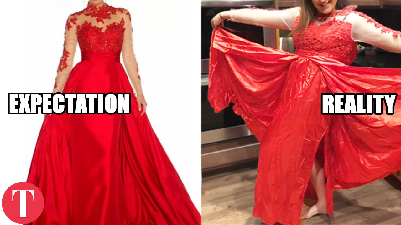 Online Shopping Clothing Fails